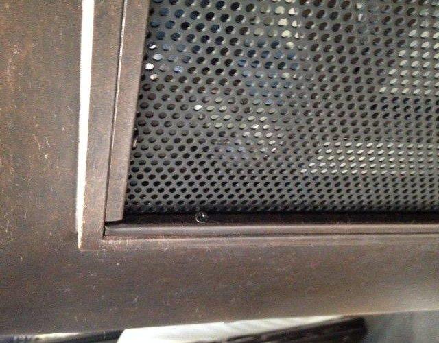 metal-mesh-water